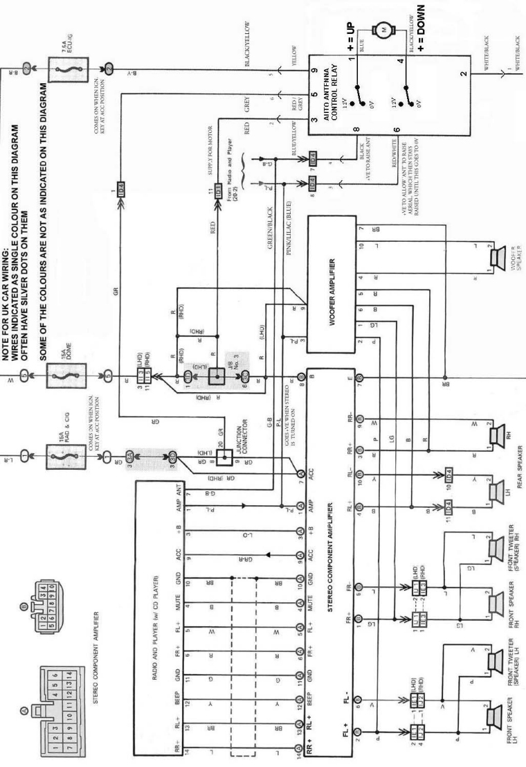 mr2 stereo wiring diagram   25 wiring diagram images