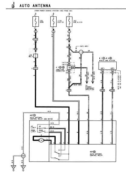 Aerial electric aerial wiring diagram power antenna relay \u2022 indy500 co  at bayanpartner.co